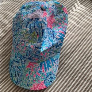 NWOT Lilly Pulitzer Run Around Hat